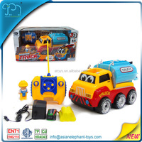 4 Channel RC Cartoon Car 4WD Tractor 4WD Toy Car 4WD Mini Truck For Kids Traktor 4WD For Boys 4WD Truck With CE Certificate