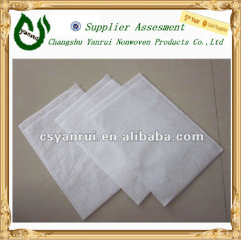 100% Polyester nonwovens wipes cloth shoes