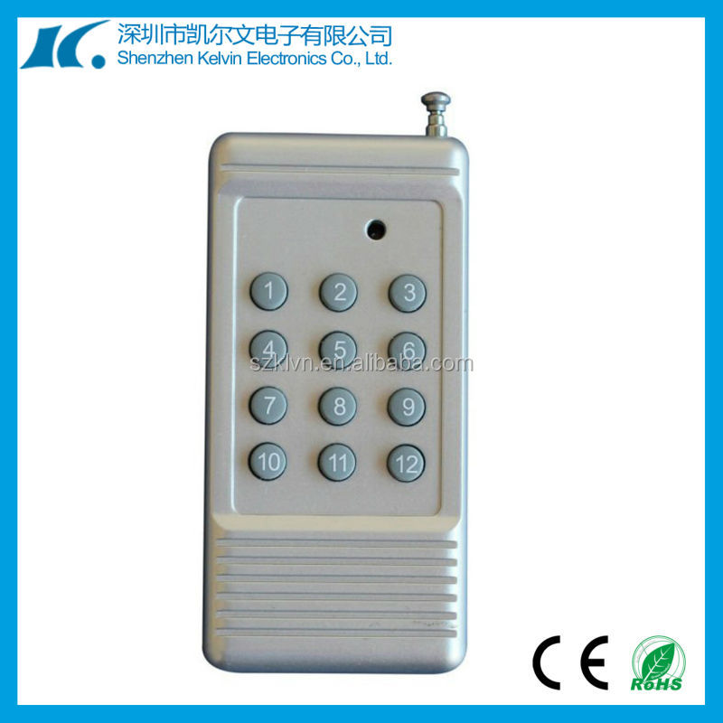 12-Button rf wireless remote control for home appliance KL86-12