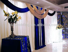 IDA royal wedding stretch tension fabric backdrop display decorations for lattest popular accerssaries