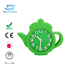 Housewares Creative lovely Teapot desk alarm Clock for Kitchen