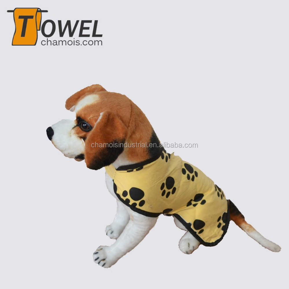 2016 New product cooling and cleaning pets chamois coat