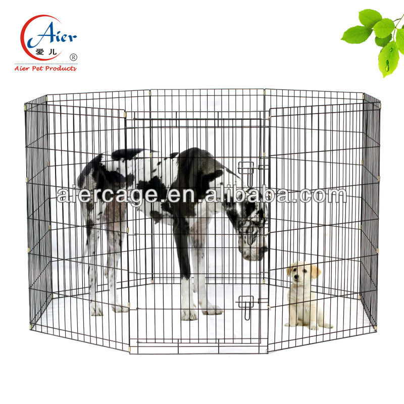large wire dog exercise pen