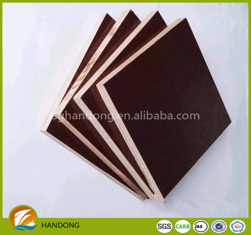 bamboo plywood 3mm film faced plywood for funiture and construction from shouguang