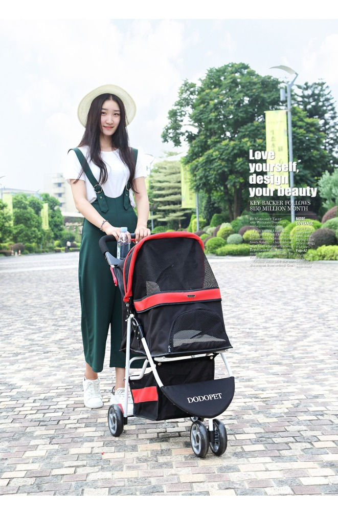 dog trolley pet stroller cover animals stroller