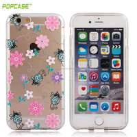 High quality TPU transparent phone case for iphone 6