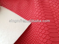 colorful cheap pu raw materials leather for shoes