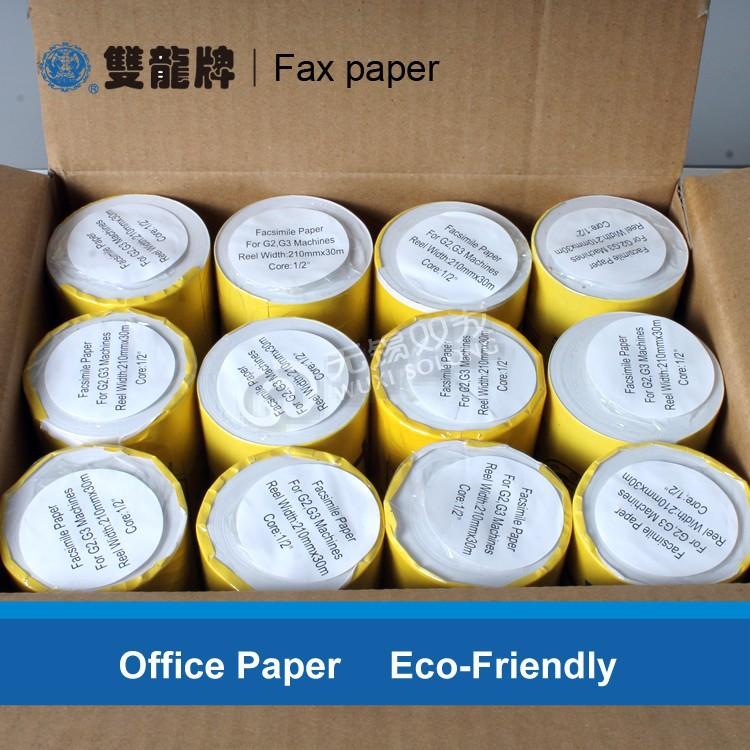 Hottest selling fax thermal paper roll with best quality guarantee