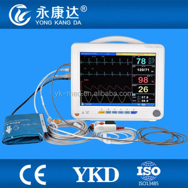 Ambulance Emergency Transport patient monitor 12.1inch patient machine