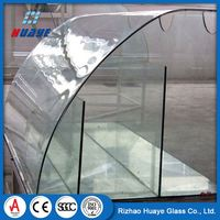 4mm tempered solar glass railing