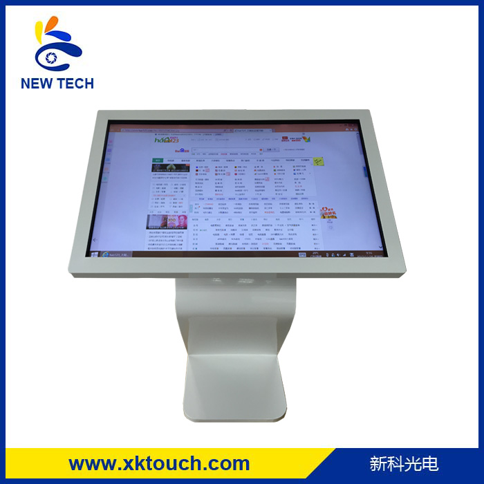 Shopping mall self service information 1920*1080p multi infrared touch screen digital kiosk with PC