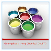 OEM supported solid colors free sample available 2K car spray paint