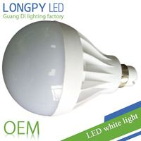 12W led light bulb/ Energy conservation and environmental protection in plastic body with factory price