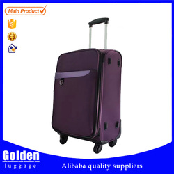 New Lightweight soft nylon cheap vintage shell luggages, decent luggage bags