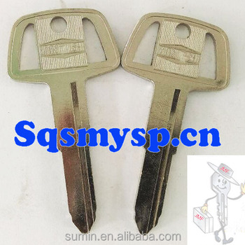 F190 A167 Brass Auto Car Key Blanks Wholesale For Locksmith