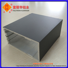 Silver Anodized or Black Anodized Aluminum Enclosure Extrusion Box