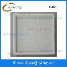 Hot sale interlocking plastic sidewalk paving mould
