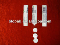 empty plastic soft touch tube