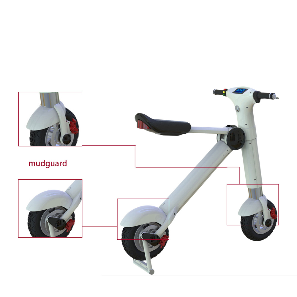 6S4 36V New Chiese Electric Scooter Sponge And Leather Riding Seat Bicycle Lowest Price E Bike Procket Motorcycle