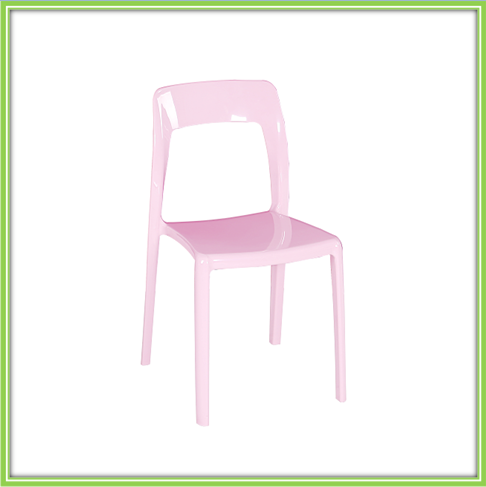 Pink Popular Plastic Chair For Children