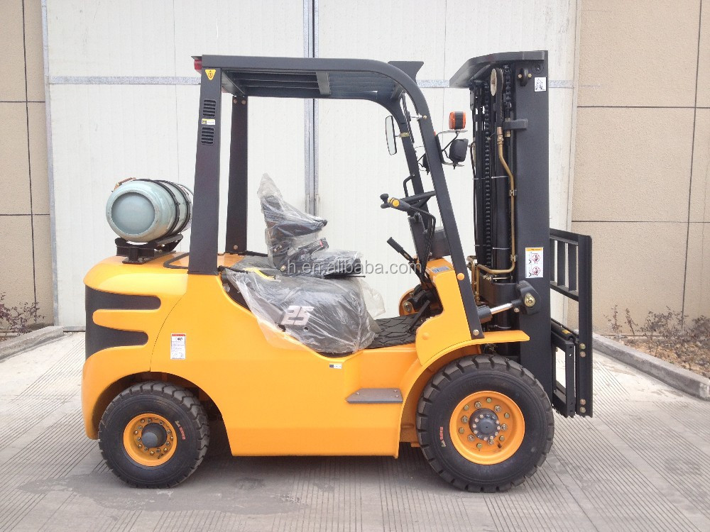 gas forklift 2.5ton lpg forklift with nissan engine