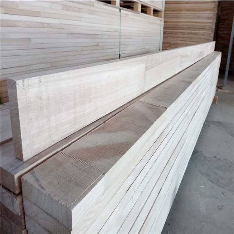 China AB Grade Paulownia Finger Joint Wood for Furniture