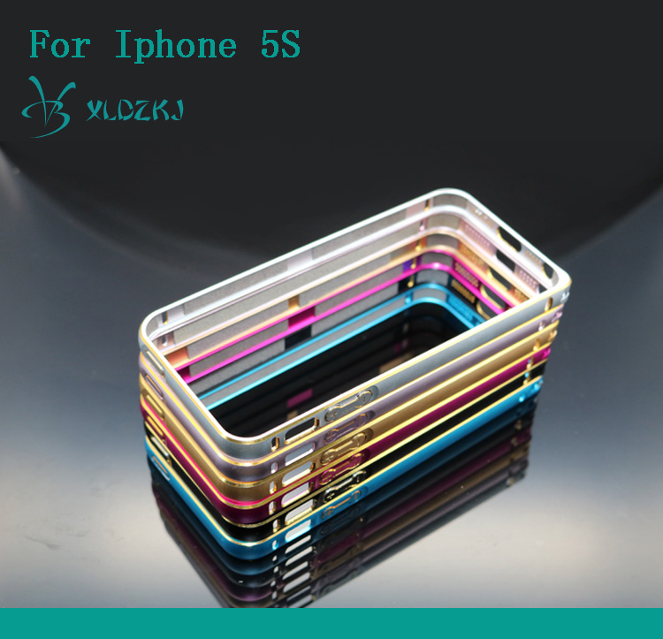 Metal Frame Cell Phone Cover Case For Iphone 5S