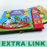 Professional High Quality Custom Coloring talking book