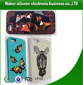 2017 Christmas whosale new fashion style silicone mobile phone case, Custom 3D silicone cell phone case cover