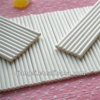 SGS approved white wholesale cake pop sticks