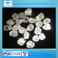 big size CVD HPHT white rough raw uncut diamond for sale