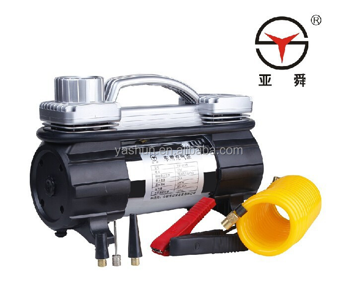 12v air compressor double cylinder/tire inflator 2 cylinder