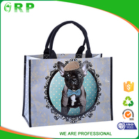 Popular design reusable breathable rpet foldable shopping bag