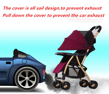 New hot selling lightweight baby stroller cheap one hand easy quick fold for sale