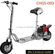 49cc 2 stroke Gasoline scooter for adult use ,gas scooter CHGS-003