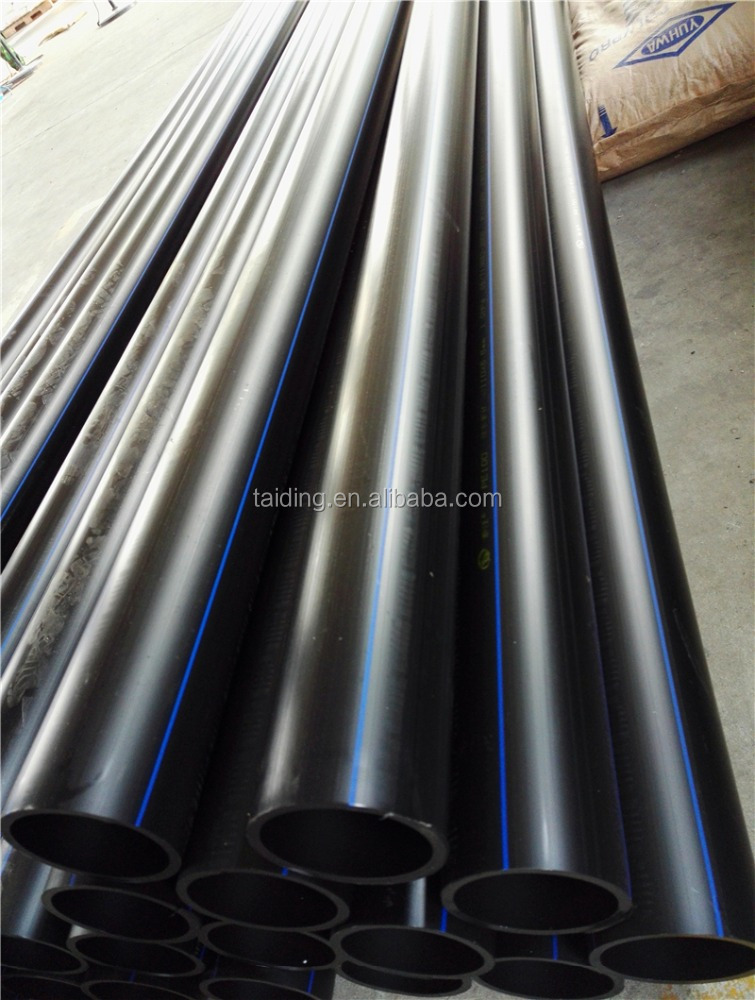 pn10 HDPE GAS SUPPLY PIPE , HDPE 100 PIPES
