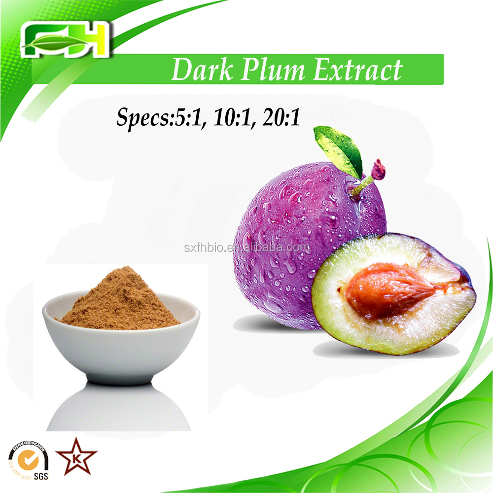 Factory Supply Dark Plum Fruit P.E. Plum Fruit Extract