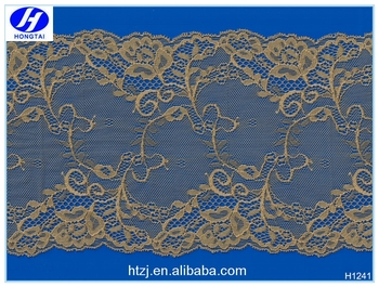 Hongtai Gold thailand lace guipure lace fabric