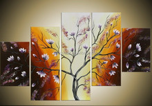 High quality chinese modern oil painting flower picture