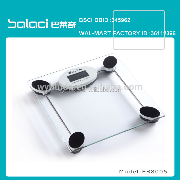high speed Digital Bathroom Weighing Scale Electronic Personal Scale model car