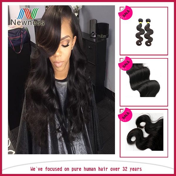 2017 Hot Sale unprocessed virgin brazilian hair wholesale beauty elements hair can be dyed