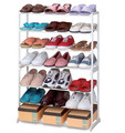 7 Tier Shoe Rack 21 Pairs Plastic Shoes Display