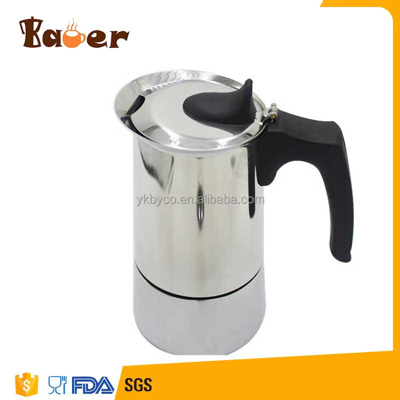 New product Food Standard Stainless Steel Moka Pot