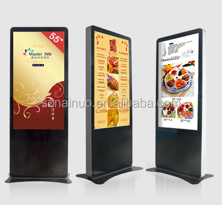 digital signage media player mirror advertising display full hd digital signage screen with PC connection