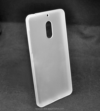 Clear TPU back Phone Case Cover for Nokia 6 made in China 2017