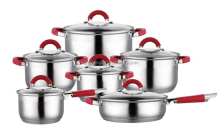12 pcs Stainless Steel Cookware Set Royalty Line cookware