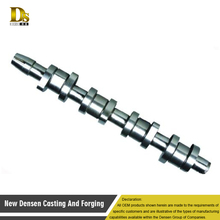 Custom cast iron casting shaft axis