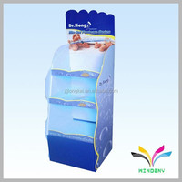 China supplier durable unique adjustable attractive paperboard drinking glass storage rack