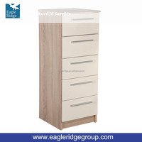 Home Office Use Chester 5 Drawer Slim Chest Cabinet