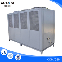 Factory Price R407c/R410a/R134a/R22 water cooling chiller plant